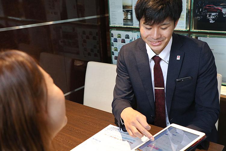 樋川自動車の保険業務・事故対応