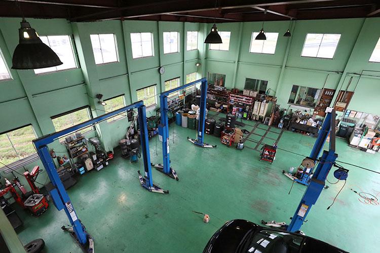 樋川自動車 設備